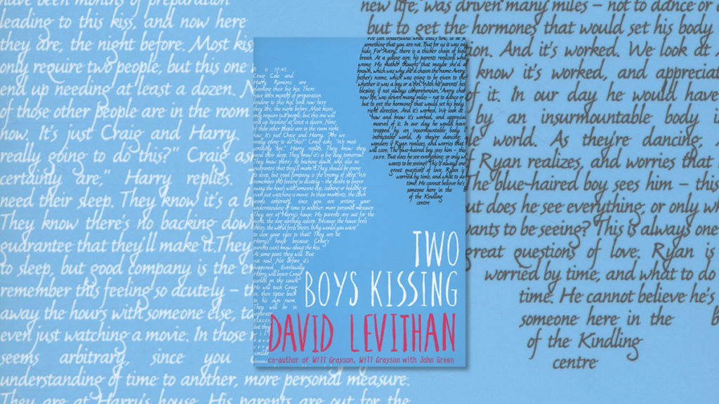 Couverture du roman gay Two Boys Kissing de David Levithan